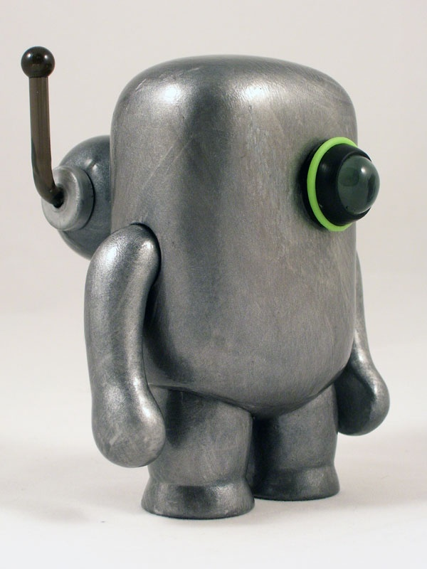 Martian Space Miner 7 » The Robot Art of Mike Slobot » Slobots are Robots Too – Robot Sculpture and Paintings