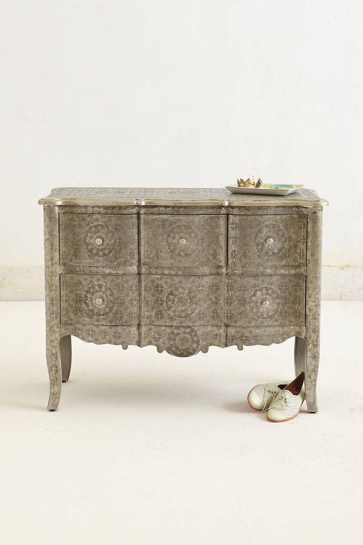 Hand-Embossed Dresser | Romantic India Style | Pinterest ...