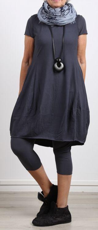 rundholz black label - Shirttunika in Ballonform Jersey ärmellos atlantic - Sommer 2017