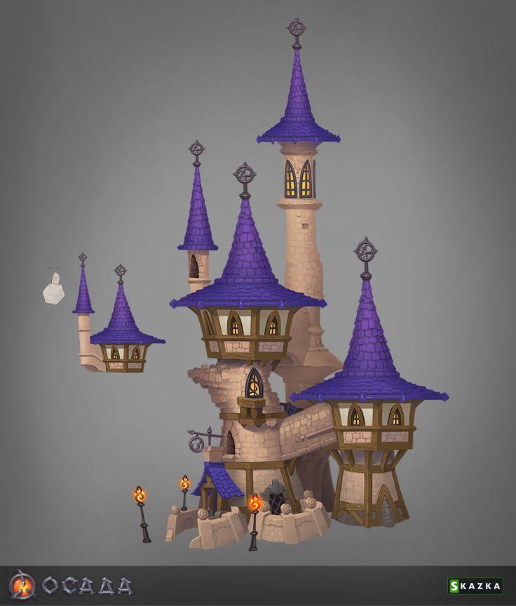 Siege. Mage tower 3 by *Gimaldinov on deviantART