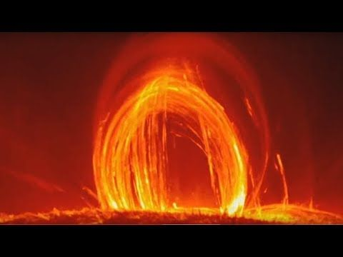 Video Replay: Loops of Fire - Solar Flares and Incredible views from the surface of the Sun - YouTube