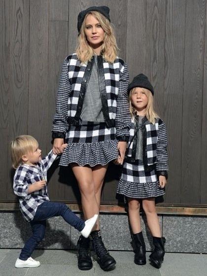 17 Images About Mini Me Fashion Trend On Pinterest Katie Holmes Kim Kardashian And Mother