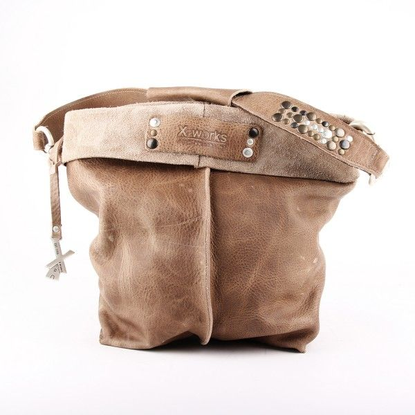 Schoudertas Taupe : Best images about tassen on bags leather