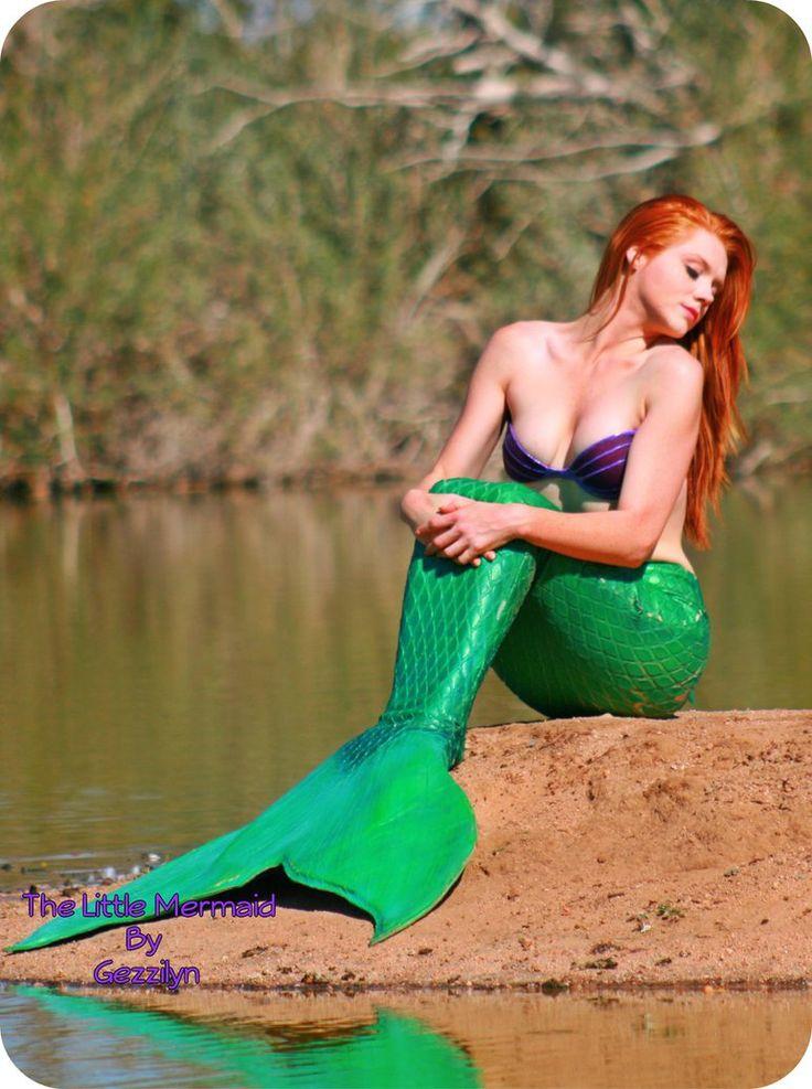 Nude ariel mermaid