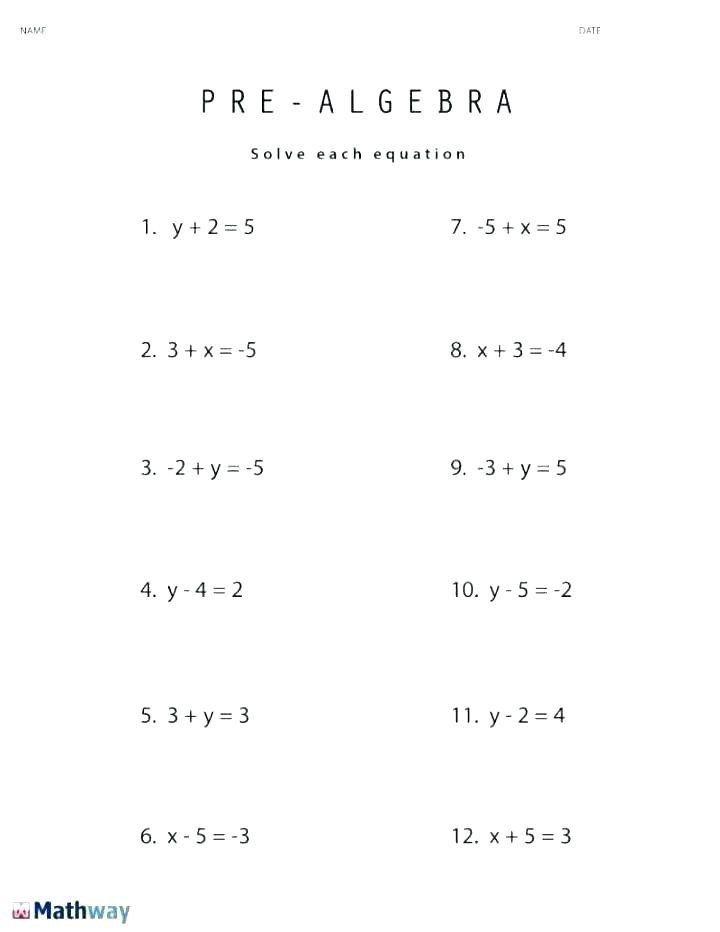 5th Grade Algebraic Expressions Worksheets Math Algebraic Expressions Worksheets Globalexotic In 2020 Pre Algebra Worksheets Algebra Equations Worksheets Basic Algebra