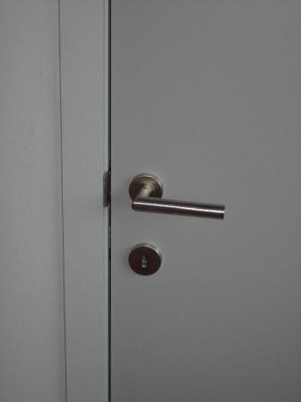 laminaat deuren met geschilderde mdf omkasting