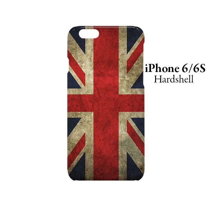 Flag of United Kingdom iPhone 6/6s Hardshell Case Cover