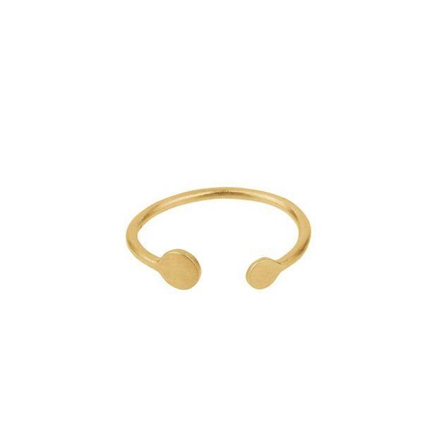 Pernille Corydon Ring, Mini Coin, Guld