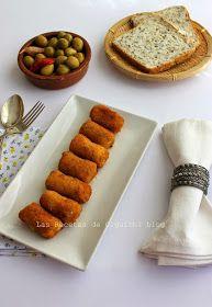 Últimamente preparo siempre las croquetas de jamón serrano según la receta del blog De la cocina de Ana . Mi única variación ha sid...