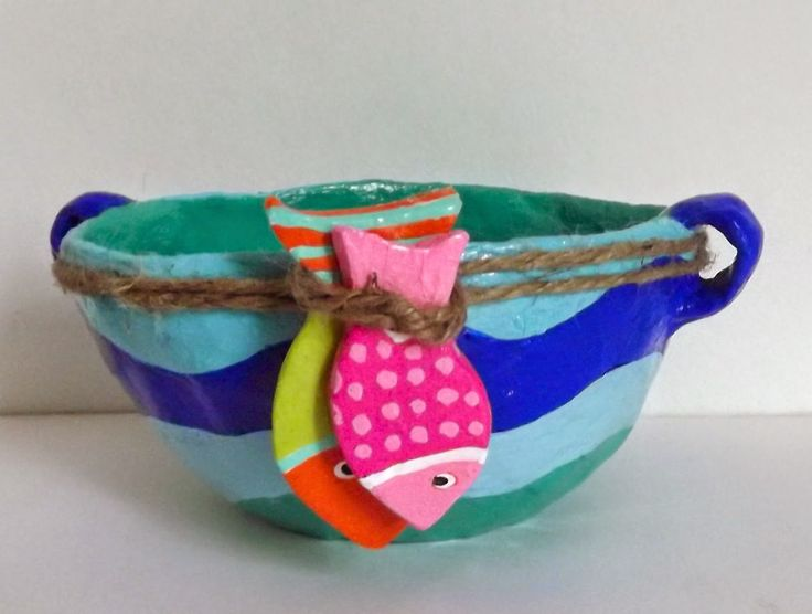 Crafts ideas craft inspiration craft tutorials paper for Fish bowl craft