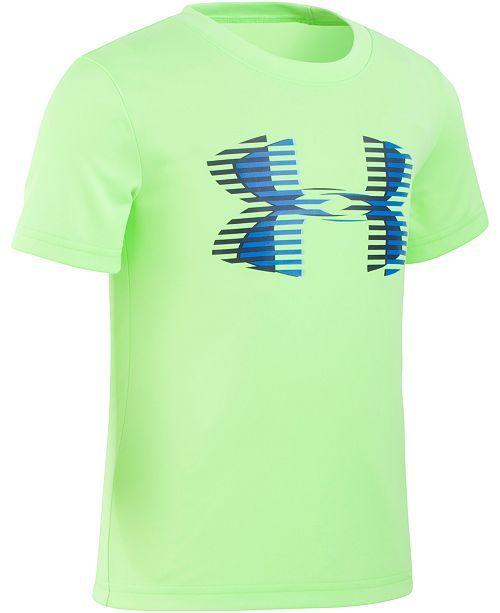 774cfb8a3a Under Armour Little Boys Linear Logo T-Shirt | Boy Clothes | T shirt ...