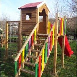 Anaokulu Renkli Çocuk Oyun Parkı