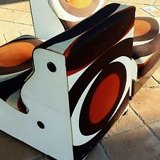 Vintage salotto completo anni 60 poltrone design coffe table