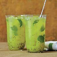Kiwi Mojito: Creative Drinks, Beverage, Mojito Recipe, Alcohol, Mojito Drinks, Eating, Kiwi Cocktails, Yummy, Kiwi Mojito