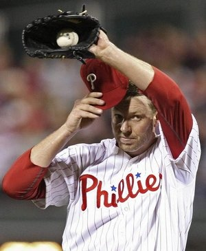 Is there relief in sight? There wasn't for Roy Halladay in the 6th inning of the May 7 Mets game when New York tied the score at 2-2. The Phils went on to lose, 5-2. Steven M. Falk / Staff Photographer