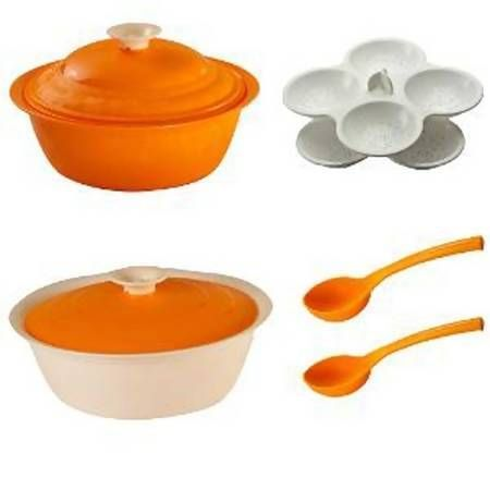 Mebelkart is offering Cutting EDGE Daffodil Microwave Rice & Idli Cooker Set Of 6. Orange At Rs 499 How to catch the offer: Click here for offer page Add Rice & Idli Cooker in your cart Login or Register Fill the shipping details Make final payment