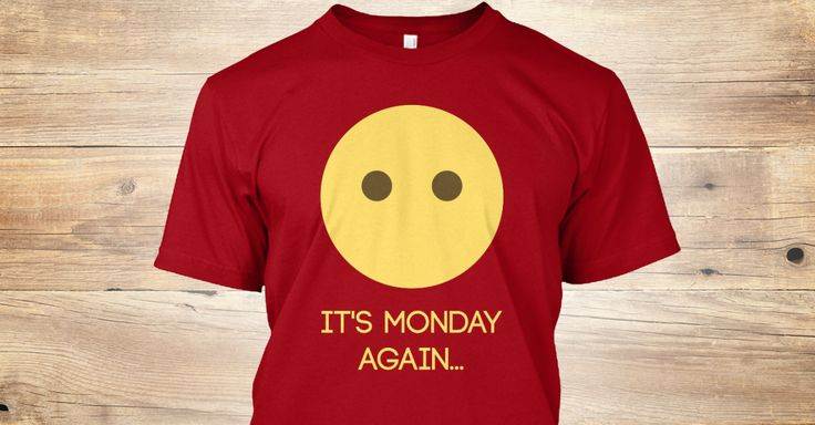 Oh SHIT! It's monday again...