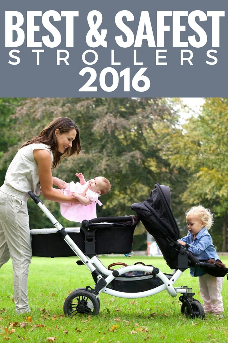 A review of the best and safest strollers tested based on the following categories: price, number of children, lifestyle, safety, comfort, cleanliness, material, size, growth and type. The best and safest strollers have been ranked by: standard strollers, car seat frame strollers, umbrella strollers, jogging strollers, double strollers and travel systems.