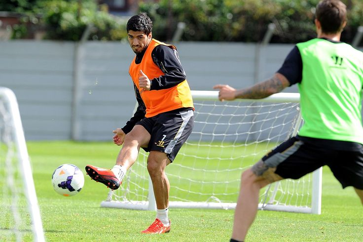 Liverpool FC train ahead of weekend Manchester United clash