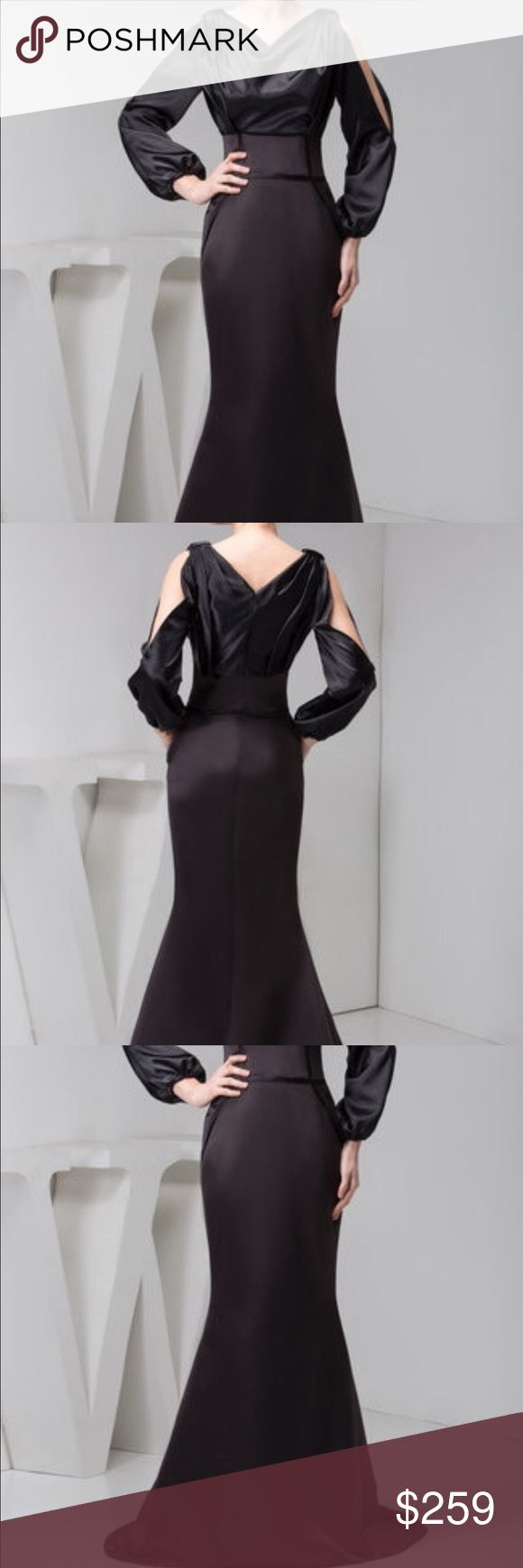 'Lovingly Missed' mermaid formal dress This hourglass-shaped formal dress, compliments with an elastic waist and and woven satin, built-in bra, and is fully lined on the inside to prevent the dress from flying up. Numerous sizes are available. Additional $14.99 for customization. Dresses