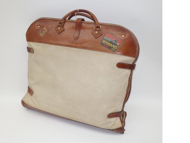 hermes atlas garment suit carrier c1940 lot 68 bonhams paris