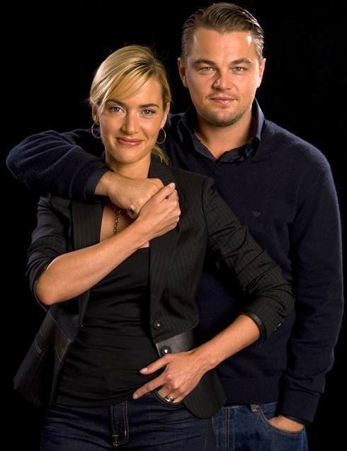 "Kate Winslet & Leonardo DiCaprio - Have been bestfriends since filming ""Titanic"" 1997"