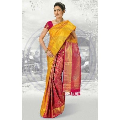 Bocade Wedding Silk Saree Pmd6