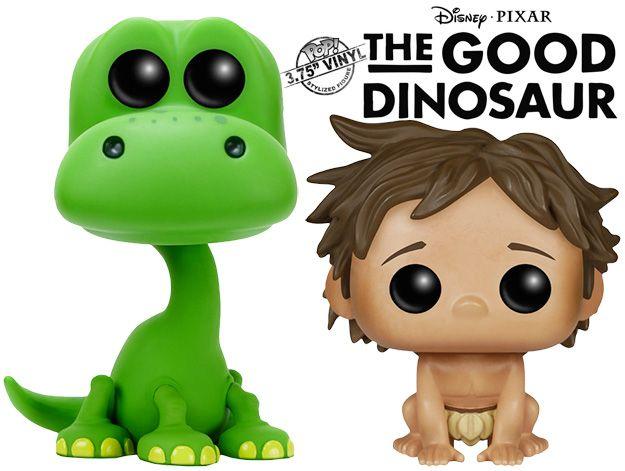 O Bom Dinossauro Pop! – Bonecos do Próximo Filme da Pixar