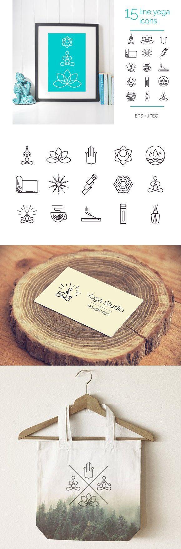 214 best Yoga Business Card Design images on Pinterest | Business ...