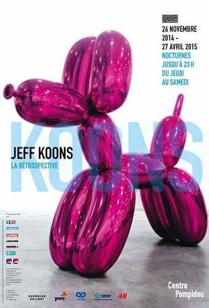 Art Contemporain - Expo Jeff Koons à Pompidou : ça fait boom ! @ Centre Pompidou - Paris, 75004