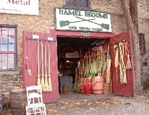 Hamel Brooms, St. Jacobs Ontario . Support Canada , instead of buying brooms that are made in Mexico . These brooms are made right here in Ontario . …. buy local !