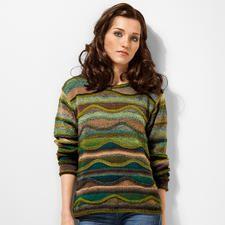 Modell 264/5, Pullover aus Crazy Zauberball von Schoppel-Wolle Modell 264/5, Pullover aus Crazy Zauberballvon Schoppel-Wolle
