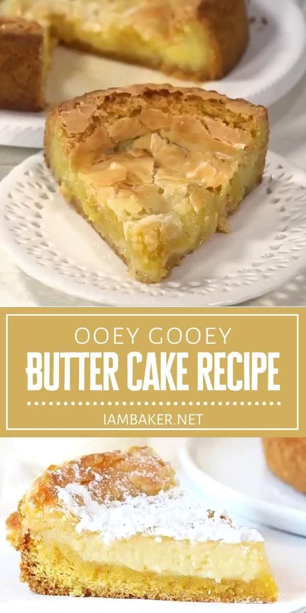 This Back To School Treat Is Almost An American Classic Ooey Gooey Butter Cake Is Simply Amazing Indulge In In 2020 Butter Cake Recipe Cake Recipes Gooey Butter Cake