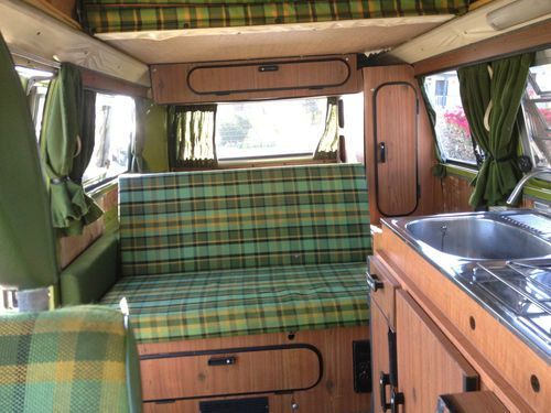1978 campmobile vw 1978 vw camper van bus original for Arredamento camper
