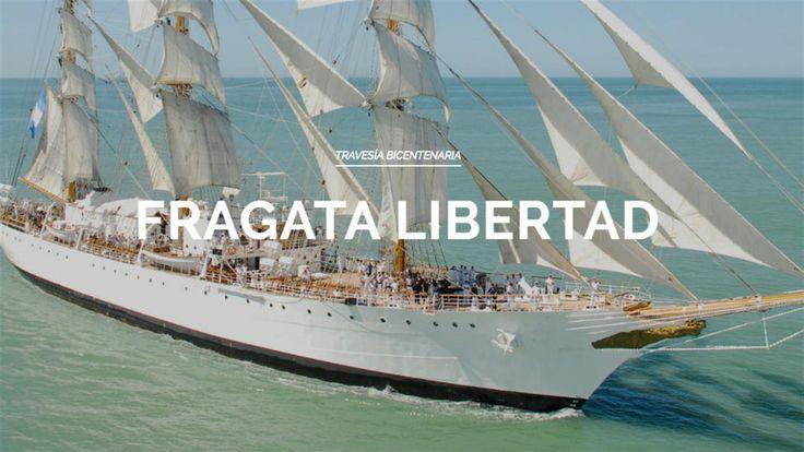 Cómo seguir la travesía de la Fragata Libertad en tiempo real  El sitio de la Fragata Libertad Ministerio de Defensa