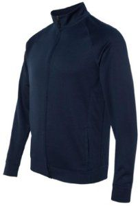 Image of Yoga Clothing For You Mens Lightweight Performance Jacket, 2XL Navy