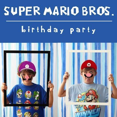 46 best Mario Brothers images on Pinterest Birthdays Birthday