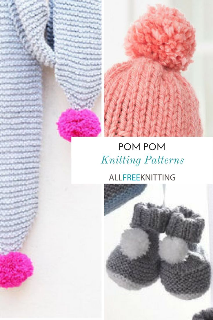 20 best Pom Pom Knitting Patterns images on Pinterest | Free ...