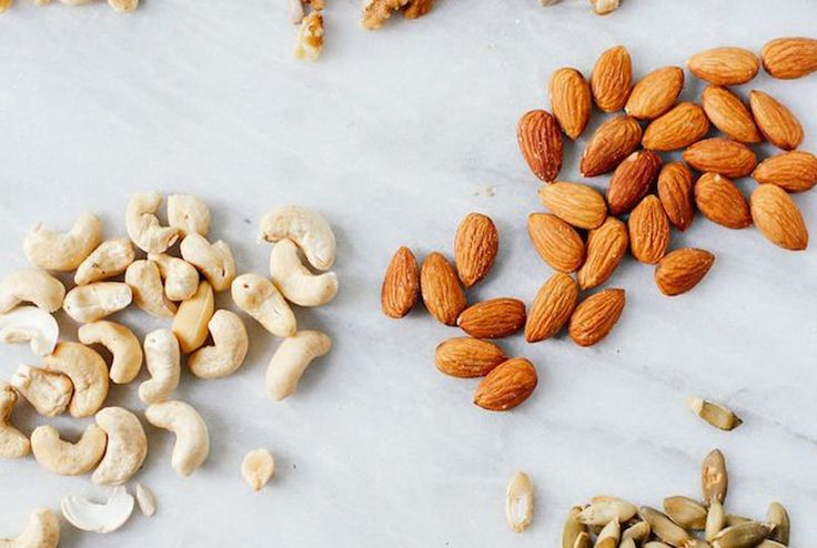 The Big Day Body Blitz: 16 healthy snack ideas to keep you firing- Raw seeds and nuts mix such as pumpkin seeds, pepitas, sunflower seeds, almonds, brazil nuts, walnuts and pine nuts