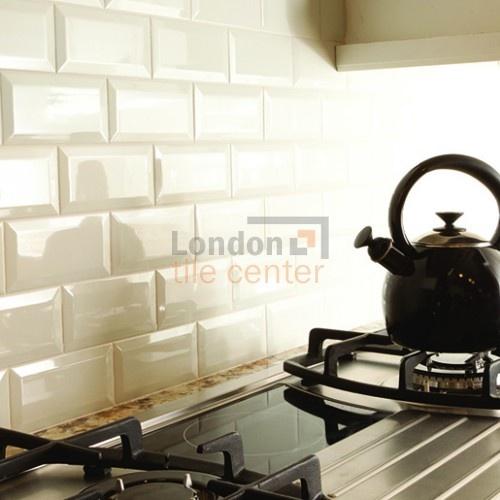 Metro Cream Kitchen Tiles