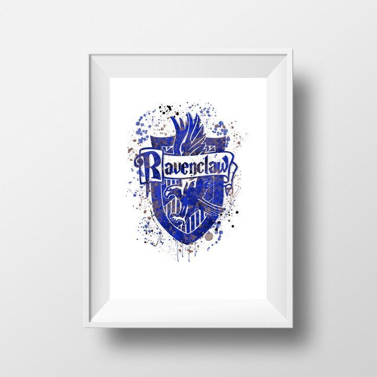 Harry Potter, Ravenclaw, Hogwarts, Ravenklauw, Zweinstein *Instant Download* door LittleRainbowFox op Etsy