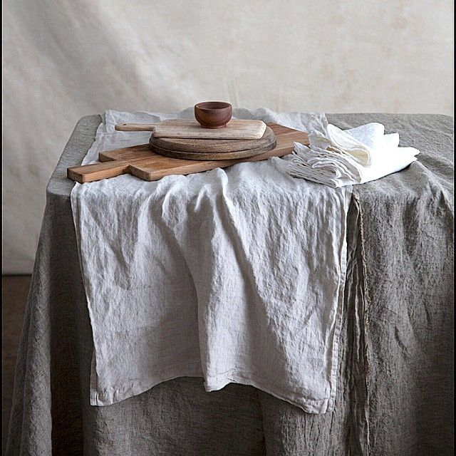 Tempting tables from HMCo. Pure linen napery makes for fab festive tables