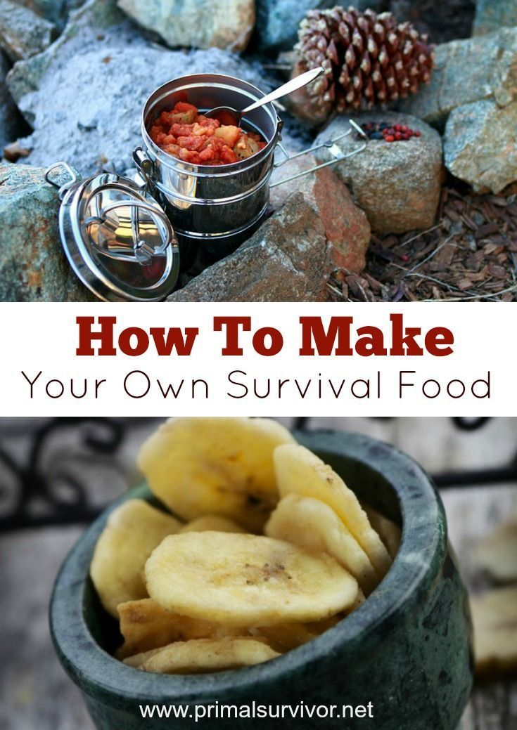 How to make your own Survival Food Cheap for when the SHTF. Make your own MRE's - Meals Ready to Eat. Includes information about dehydrating food.