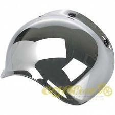 Visiera bubble Biltwell Chrome Mirror per casco jet caferace custom 942879 in Veicoli: Ricambi e accessori, Vestiario, caschi e protezioni, Caschi e accessori per il capo   eBay