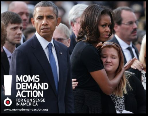 How many people have to die from guns until we do something? Both the president and first lady look fed up!