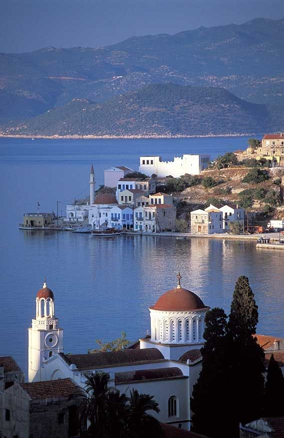 the Greek island of Meis (or Kastellorizo) right across from the Turkish town Kas | by Durukos Yachting