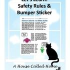 Thank you for considering my Science Safety Rules and Bumper Sticker Activity.  In it you will find general lab safety rules that will apply to any...