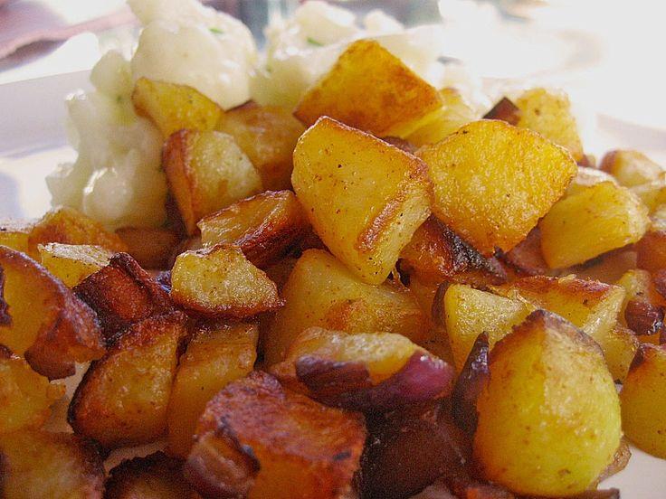 Chefkoch.de Rezept: Knusprige Bratkartoffeln nach Muttis Rezept