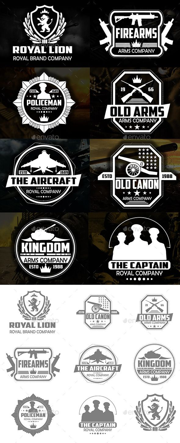 military badges and logos eps template only available here. Black Bedroom Furniture Sets. Home Design Ideas