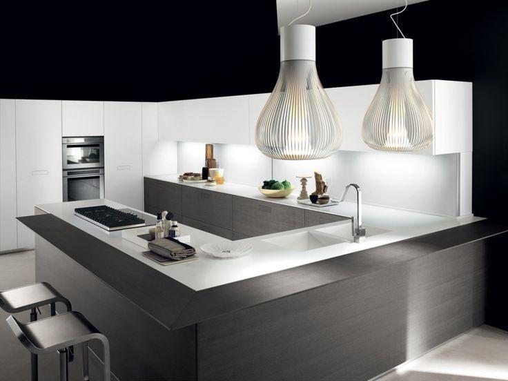 Oltre 25 fantastiche idee su cucine bianche moderne su - Cucine moderne a poco prezzo ...